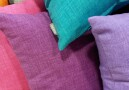 Decorative monochromatic cushions
