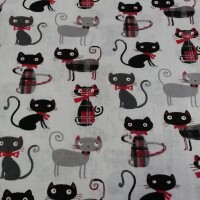 Decorative fabric CATS LORD 2