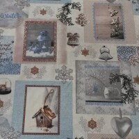 Cotton fabric WINTER TIME 1