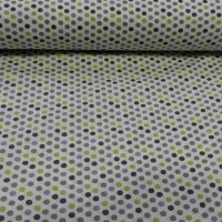 Cotton fabric Colored dots II