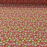 Cotton fabric TILO red