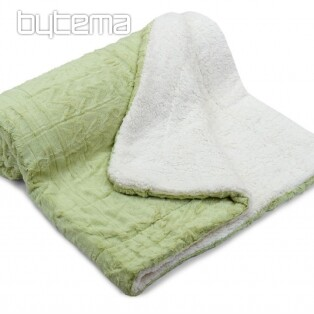 Jacquard blanket SHEEP - 150x200 pistachio