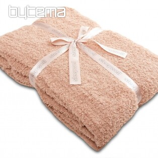 Microfiber blanket WELL LUXURY chocolade