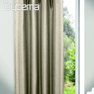 Decorative curtain JOLIE Light beige-gray 135x245