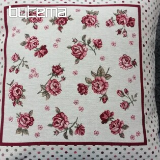 Tapestry pillow ROSES