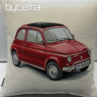 Tapestry pillow-case FIAT red