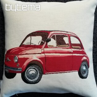 Tapestry pillow-case RED FIAT