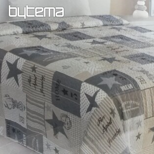 Single bed cover STARS