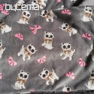 Cot bedding - microflannel CATS