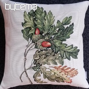 Tapestry pillow-case Oak acorn