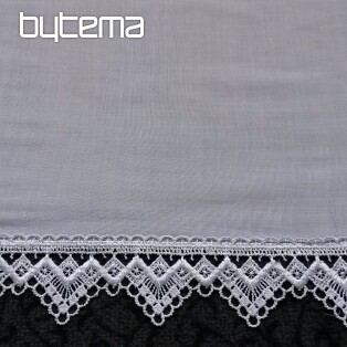 Modern embroidered curtain 13532
