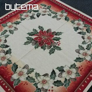 Tapestry tablecloth 90x90 CHRISTMAS ROSES