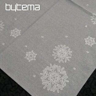 Christmas embroidered tablecloth and shawls SNOWFLAKE