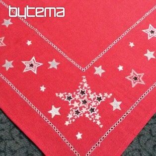 Christmas embroidered tablecloth and shawls CHRISTMAS STARS II