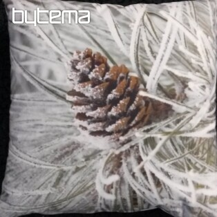 Decorative pillow-case PINE IN WINTER 40x40