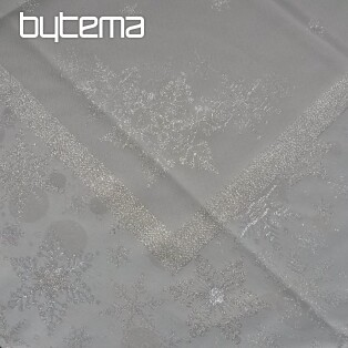 Christmas tablecloth and shawls SILVER CHRISTMAS