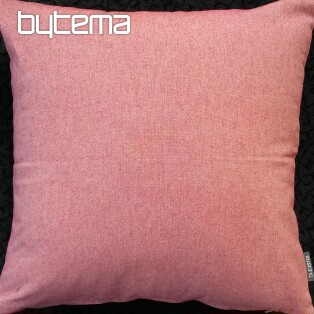 Decorative pillow-case PASTEL red