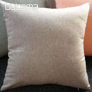 Decorative pillow-case PASTEL brown