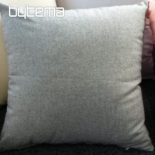 Decorative pillow-case PASTEL black