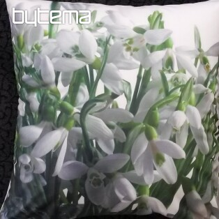 Decorative pillow-case SNOWDROP 40x40
