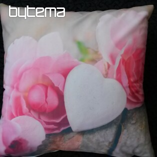 Decorative pillow-case SWEET ROSES 40x40