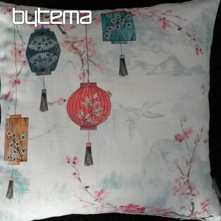 Decorative pillow-case MIDORI Japanese garden