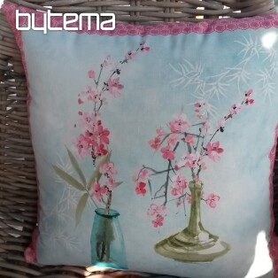 Decorative pillow-case MIDORI Vases