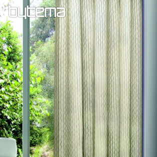 Light decorative curtain OTTO brownisch gray 135x245