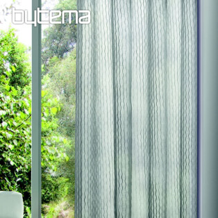 Light decorative curtain OTTO anthracite 135x245
