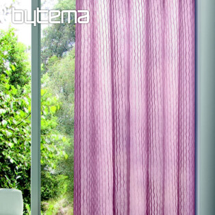 Light decorative curtain OTTO burgundy 135x245