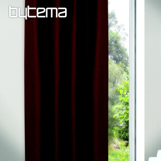 Decorative curtain JOLIE claret 135x245