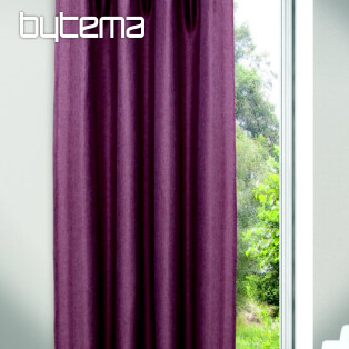 Decorative curtain JOLIE violet 135x245