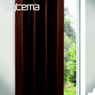 Decorative curtain JOLIE brown 135x245