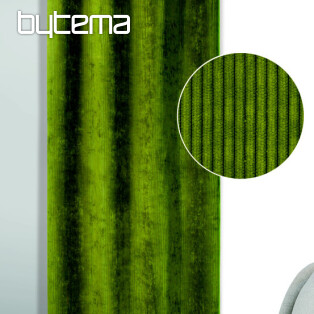 Decorative curtain BRIT green 135x245