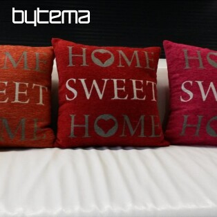 Decorative pillow-case HOME SWEET HOME 45/45