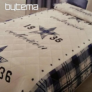 Single bed cover STARS BLUE 170x210