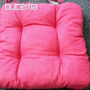 Chair cushion EDGAR raspberry 401
