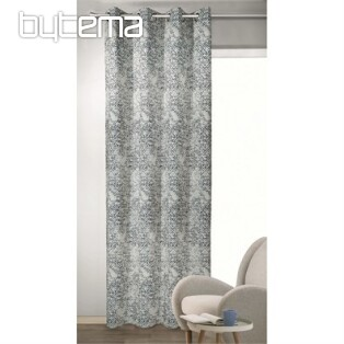 Decorative curtain RAMON blue-grey 135x245