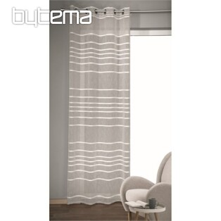 Decorative curtain GINO gray 135x245