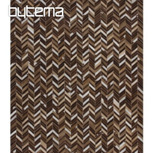 Leather Carpet PATCHWORK 852 Beige